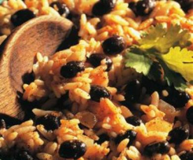 Black Bean & Rice Salad