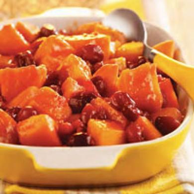 Cranberry Sweet Potatoes