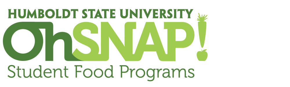 HSU Oh SNAP! – Student-to-Student Support For A Healthier College Humbodlt State University on